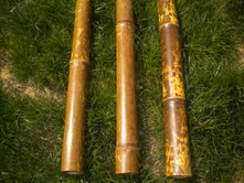 Bamboo Speckled Poles